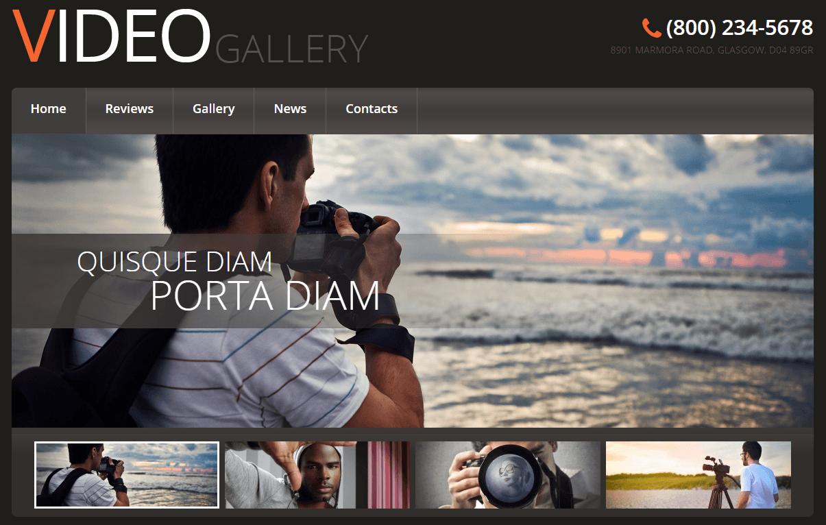 Thiết kế website cho công ty thiết kế video bán hàng
