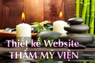 Thiết kế website cực đẹp cho thẩm mỹ viện
